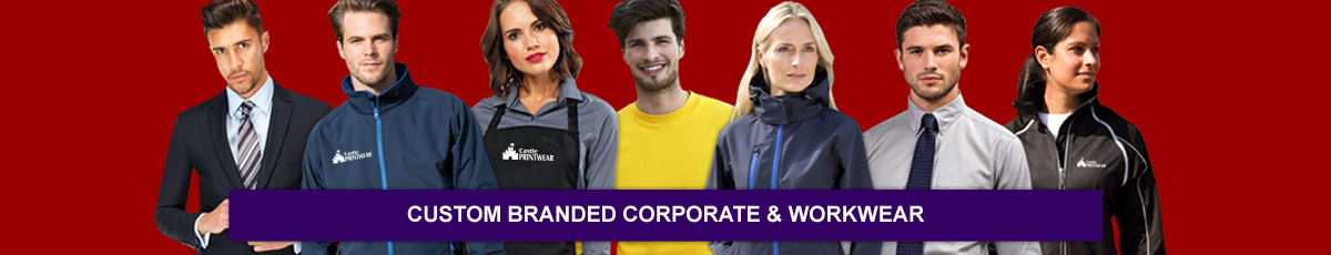 Low cost workwear & staff uniforms available branded with your logo.