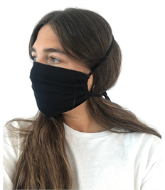 Organic Cotton Face Mask (with tie)- Pack of 2