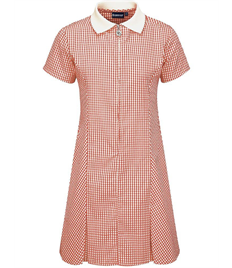 St Edwards Gingham Dress