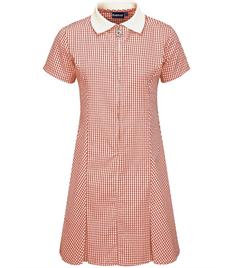 St Edwards Gingham Dress