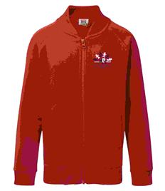 Kegworth primary Zippy - Zip up Sweatshirt