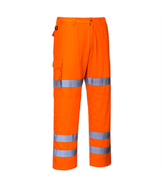 Hi-Vis Three Band Combat Trousers