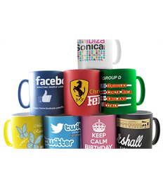 Full Colour Printed Satin Finish Mug