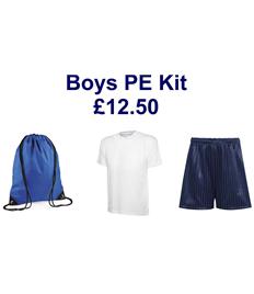 Boys PE Kit - save £2 on individual prices