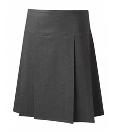 Junior Drop Waist Pleated Skirt