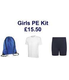 Girls PE Kit - Save £2.45 on individual prices