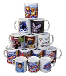Printed Mugs - Photos -Logos - Text