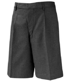 Flat Front, Bermuda Length Shorts (Junior)