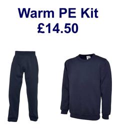 Warm PE Kit - Save £2 on individual prices