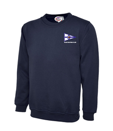 Plus size Soar Boating Club Embroidered Sweatshirt