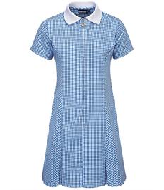 Long Whatton Gingham Dress