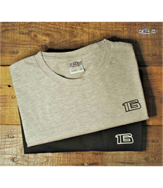 '16' Printed T Shirt (Adult Size)